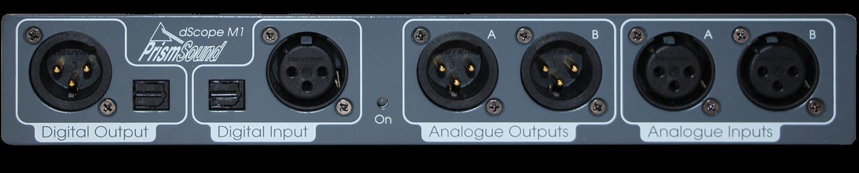 dScope M1 audio test & measurement