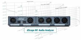 dScope M1 for audio test & measurement