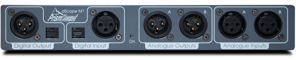 dScope M1 audio analyzer audio test instrument