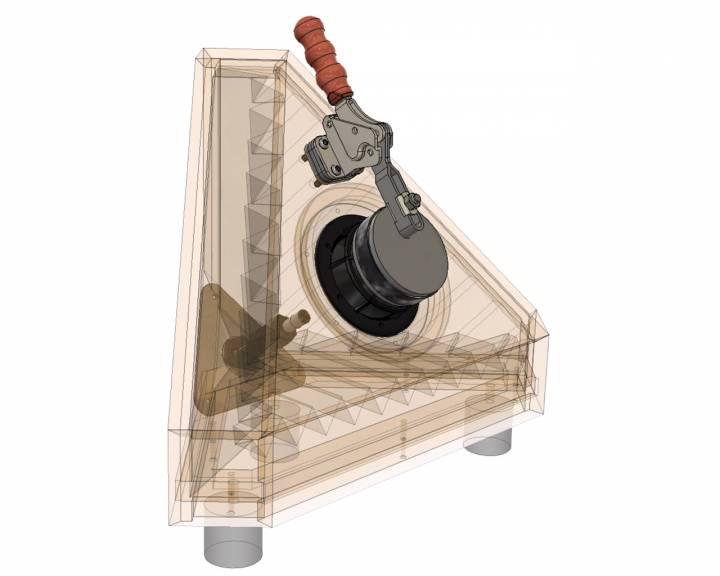 Loudspeaker test chamber TTC drive unit testing chamber